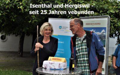 Isenthal und Hergiswil – seit 25 Jahren verbunden